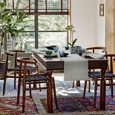 mixed dining room chairs buy john lewis maharani 6 seater dining table john lewis