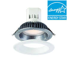 easy install recessed lighting envirolite easy up with magnetic trim 6 in white integrated led