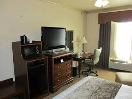 tv desk refrigerator and microwave picture of best western