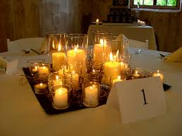 candle centerpiece candle only centerpieces weddingbee