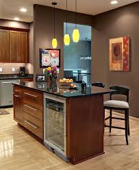 kitchen island with refrigerator kitchen island with wine fridge pictures stunning rack plans
