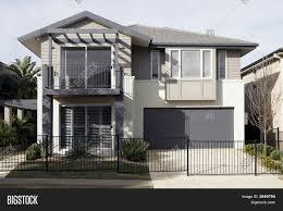 Home Blueprints For Sale Dining Room Suburban House Modern Suburban House Stock Photo