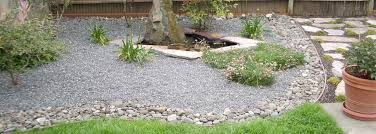 Backyard Pebble Gravel Landscape Material Supplier Scottsdale By A U0026a Materials