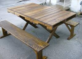 15 Unique Pallet Picnic Table 101 Pallets by 122 Best Pallet Tables Images On Pinterest Crafts Furniture And