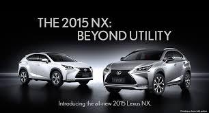 2015 lexus nx pricing launch date u0026 trim specs announced