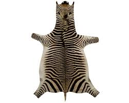 Genuine Zebra Rug Exotic Gameskins Genuine Springbok Zebra Wildebeest Kudu