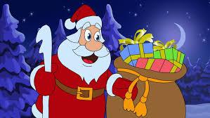 animated card merry christmas in norwegian and swedish god jul