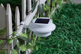 dynergy globrite solar gutter lights 2 pack black or white
