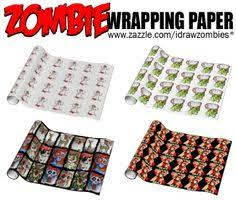walking dead wrapping paper inspired christmas cards horror fanatic ll