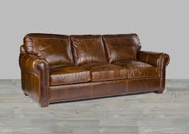 Brown Leather Sofa And Loveseat Brown Leather Sofa Alligator Embossing