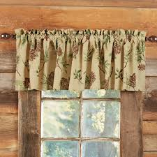 Hunter Green Window Curtains by Rustic Curtains Cabin Window Treatments