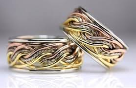 wedding bands images braided unique wedding rings handmade by artist todd alan