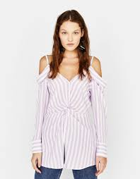 shoulder blouse women s shirts summer collection 2018 bershka