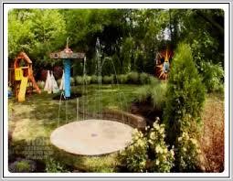 backyard splash pad home design ideas