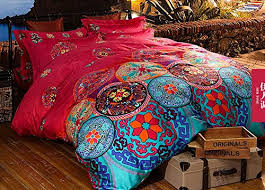 Amazon Duvet Sets Cliab Moroccan Bedding Bohemian Bedding Sets Full Queen Egyptian