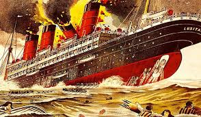 sinking of the lusitania what sunk the lusitania if you think it was a torpedo think again