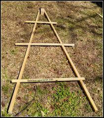 how to build a teepee trellis sanctuary gardener