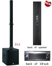 mini home theater system music sound for club powered mini line array 18 inch astive sub