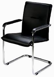 lot de 2 chaises visiteur glina