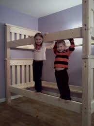 Ana White Bunk Bed Plans by Bunk Bed U0027s Per Ana White Plan Ana White Woodworking Projects