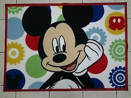 Micky Mouse Rug Mickey Mouse Collection On Ebay