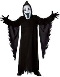 Scary Kids Halloween Costume Smiley Ghost Scary Kids Costume Costumes