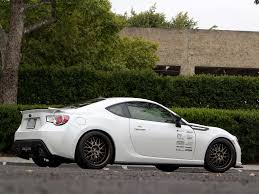 subaru brz custom project subaru brz gets wheels performance upgrades autoguide