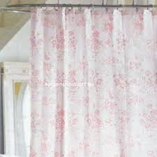 htf simply shabby chic vintage pink floral rose toile fabric
