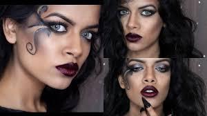 Halloween Makeup For Dark Skin by Dark Fairy Tutorial Halloween Makeup Youtube
