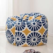 Bean Bag Sofa Pattern Aliexpress Com Buy 120x120cm Pattern Style Bean Bag Chair Garden