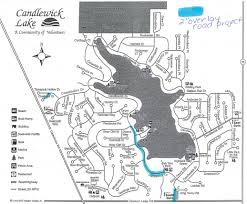 Illinois Road Construction Map by Revised Road Construction Plan U2026 U2013 Candlewick Lake Association