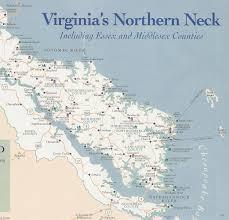 Northern Virginia Map Northern Neck Virginia Map Afputra Com