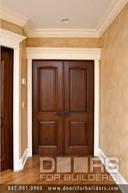 Interior Doors With Glass Panel Interior Two Panel Custom Door Custom Wood Interior Doors