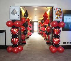 37 best casino theme balloon decor images on pinterest casino