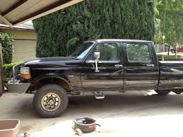 1997 f350 cclb dually 2wd conversion to 4x4 ford truck