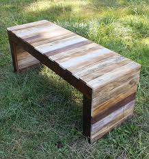 Diy Pallet Wood Distressed Table Computer Desk 101 Pallets by Diy Pallet Table And Bench 1 Jpg 600 638 Pixels Repurposed