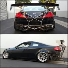 nissan 370z gt wing street faction engineering typhon chassis mount wings zilvia