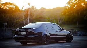 lexus is 200 wallpapers lexus is200 black auto back view 1920x1080