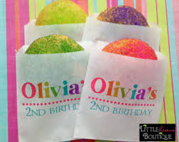 personalized party favor bags rainbow favor bags etsy