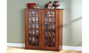 Corner Cabinet With Doors by Oak Stereo Cabinets With Glass Doors Best Home Furniture Decoration