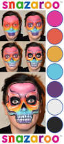 Halloween Skull Face Makeup by Best 10 Skull Face Paint Ideas On Pinterest Sugar Skull Face