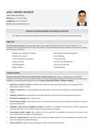 Business Analyst Sample Resume Finance by 100 Accounts And Finance Resume Format Creddle Resume