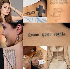 mixfashion celebrities tattoos