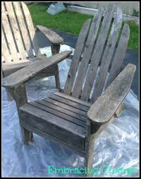 How To Paint An Adirondack Chair Summertime Is Almost Here My Adirondack Chair Reveal