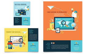 marketing agency flyers templates u0026 designs professional services