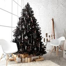 black christmas tree decorations pictures reference