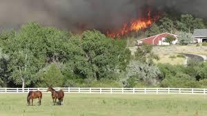 Wildfires Near Montana by Fire On Yellowstone River Duck Creek Near Billings Mt Youtube