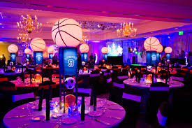 Soccer Theme Party Decorations Basketball And Soccer Themed Bar Mitzvah The Celebration Society