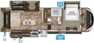 30 Foot Travel Trailer Floor Plans by 327rst Grand Design