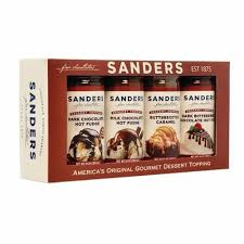 hot chocolate gift set sanders 4 pack topping gift set 40oz